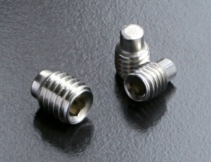 screws with dog point
