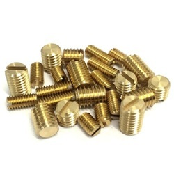 screws with brass material